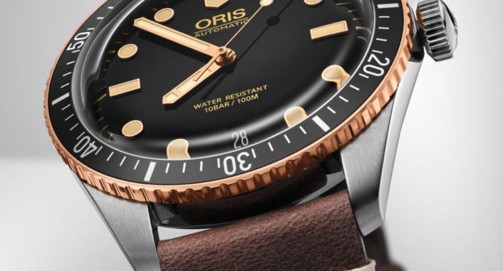 01 733 7707 4354-07 5 20 55 - Oris Divers Sixty-Five